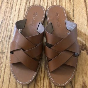 Gently used braided Madewell sandals